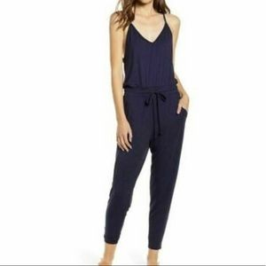 Wildfox Zoe NWT Navy Jumpsuit Size Large